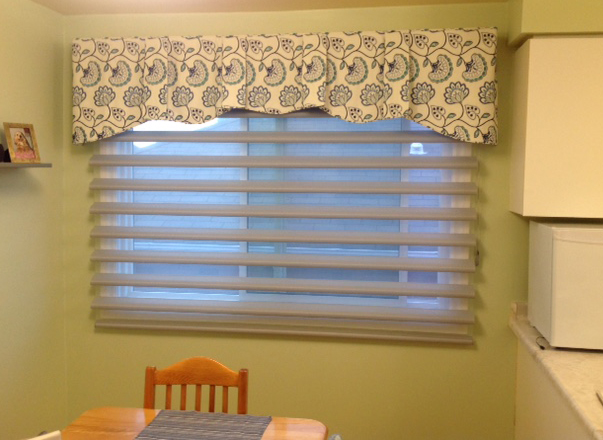 Window Valances in Port Hope by Sensational Seams
