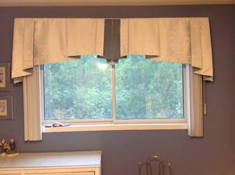 Window Valances in Pickering -  Sensational Seams
