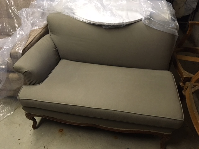 Upholstered Grey Sofa - Sensational Seams