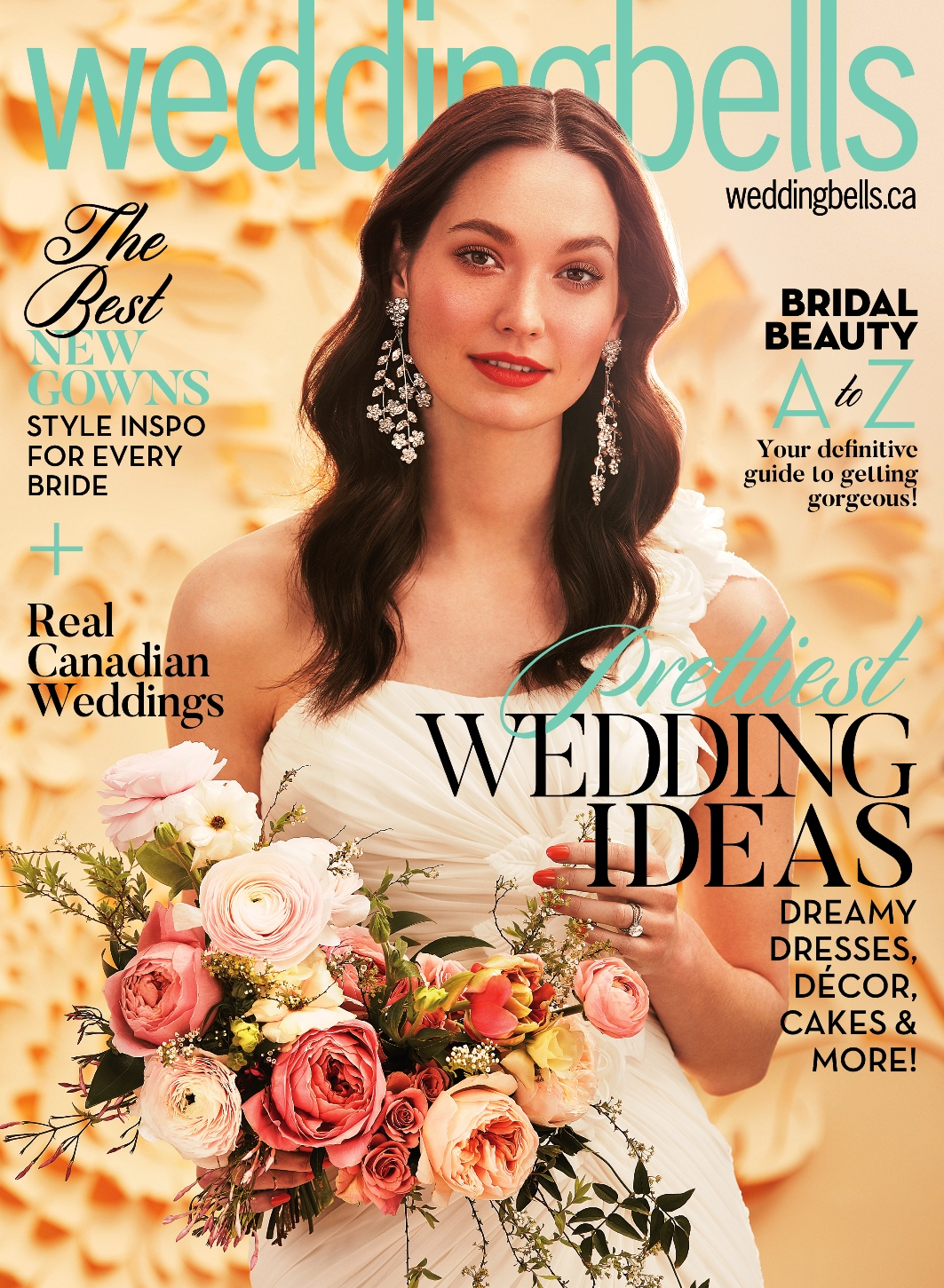 Featured in WeddingBells Canada Magazine