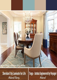 A Traditional Dining Room Design by Catherine-Lucie Horber -  Royal Interior Design Ltd. Social Media