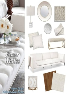 Winter Whites Interior Design From Catherine-Lucie Horber -  Royal Interior Design Ltd. Social Media