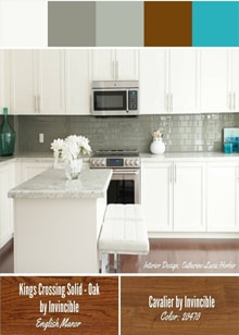 Kitchen Design by Catherine-Lucie Horber -  Royal Interior Design Ltd. Social Media