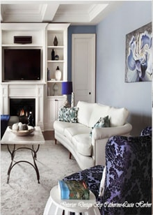 Room Design by Catherine-Lucie Horber -  Royal Interior Design Ltd. Social Media