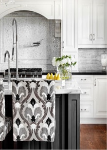 Beautiful Kitchen Design by Catherine-Lucie Horber -  Royal Interior Design Ltd. Social Media