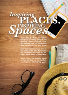 Inspiring Places. Inspiring Spaces - Magazine mentions for Royal Interior Design Ltd.