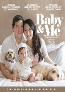 Baby & Me Magazine Issue One - Magazine mentions for Royal Interior Design Ltd.