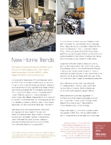 New Home Trends - Magazine mentions for Royal Interior Design Ltd.