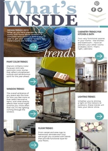 What's Inside - Magazine mentions for Royal Interior Design Ltd.