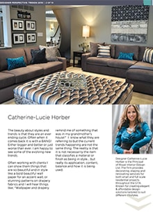 Catherine-Lucie Horber - Magazine mentions for Royal Interior Design Ltd.