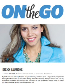 On the Go - Magazine mentions for Royal Interior Design Ltd.