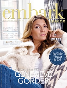 Embark Home and Decor - Magazine mentions for Royal Interior Design Ltd.