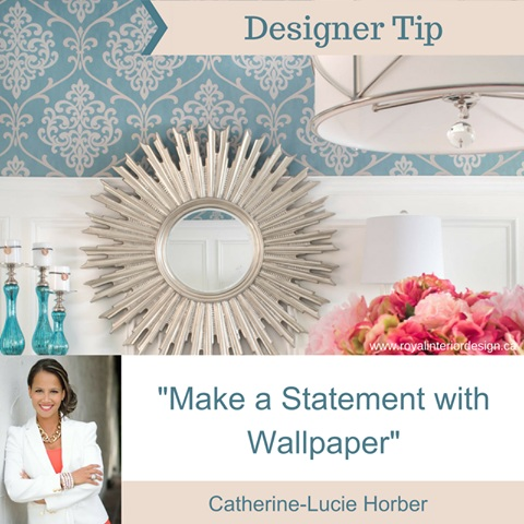 Make a Statement With Wallpaper