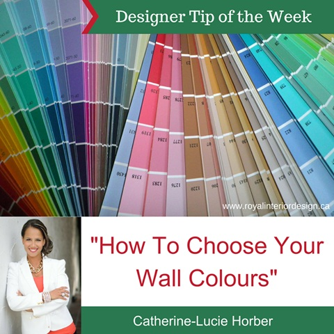How to Choose Your Wall Colours