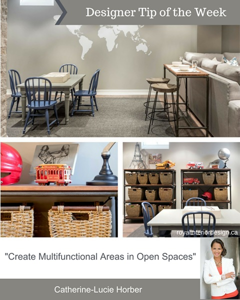 Create Multifunctional Areas in Open Spaces
