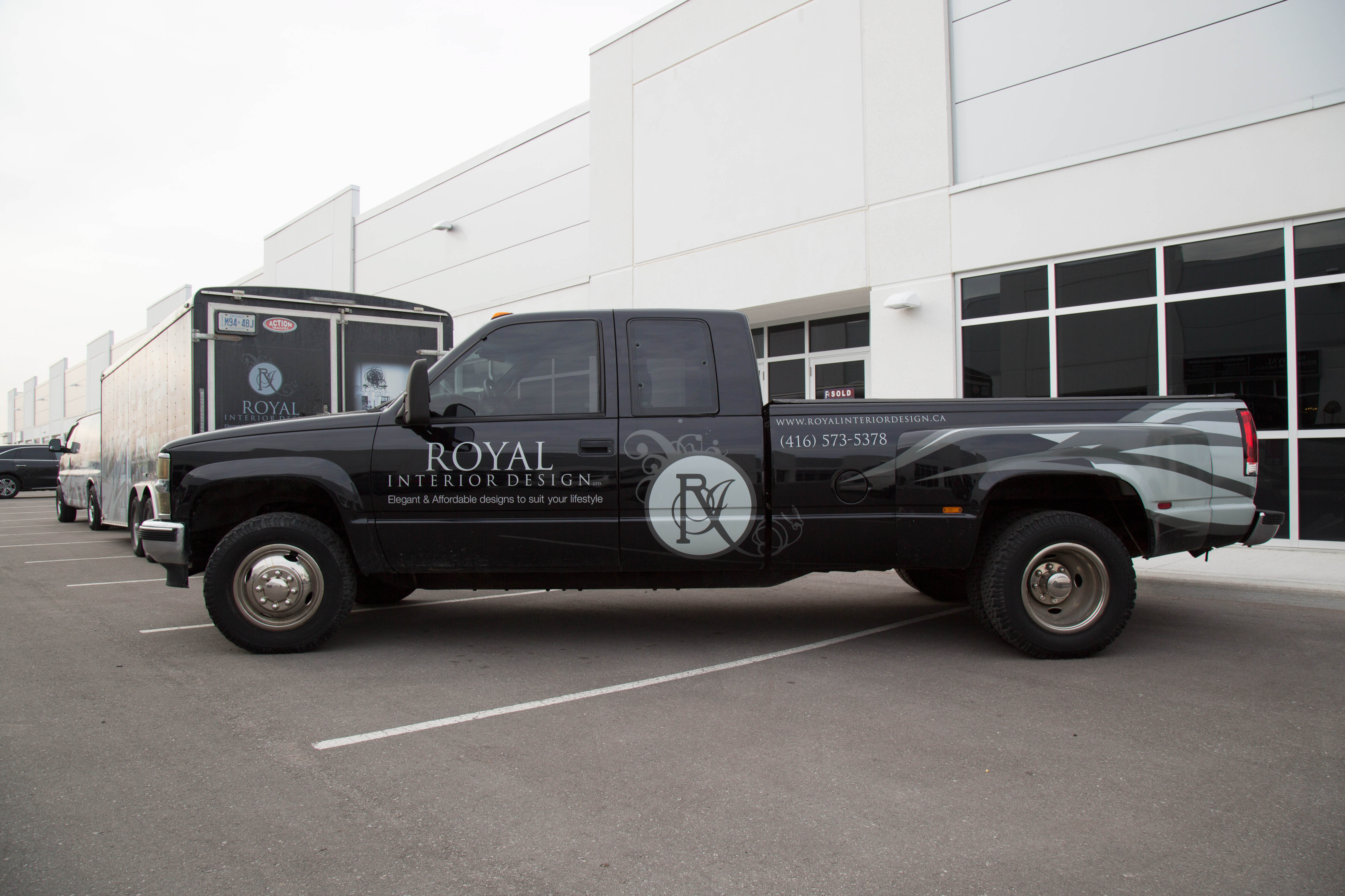 Royal Interior Design Ltd. Pickup Truck - Decorating  Service Stouffville