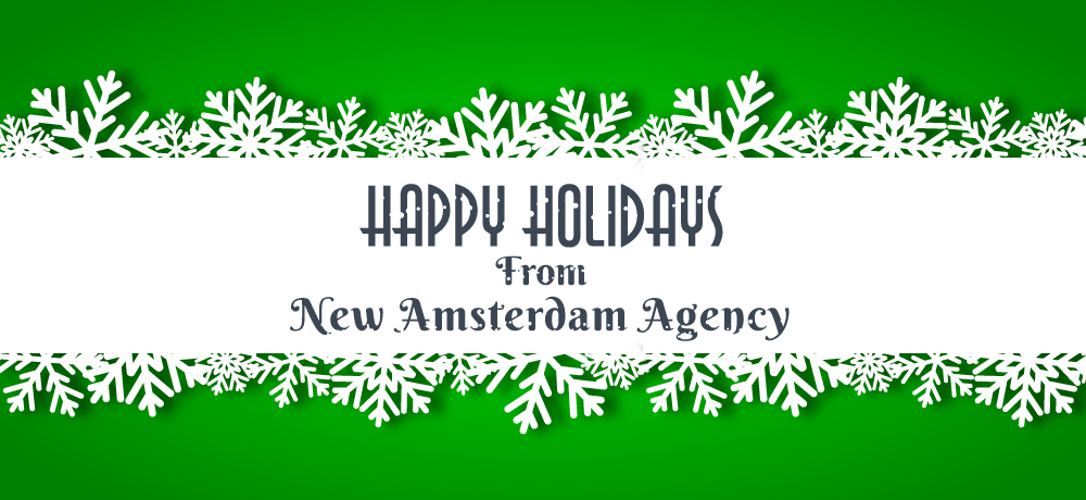Season's Greetings from New Amsterdam Agency