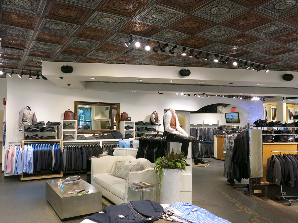 Commercial Design Services in Calgary for Supreme Menswear by Method Residential Design
