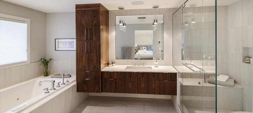Modern Bathroom Interior Design by Method Residential Design - Renovation Contractors in Calgary