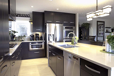 Kitchen Interior Improvements in Chestermere by Method Residential Design