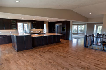 Kitchen Improvement Priddis, Alberta by Method Residential Design