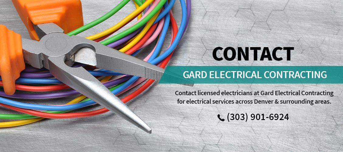 Gard Electrical Contracting Electrical Services Denver Co