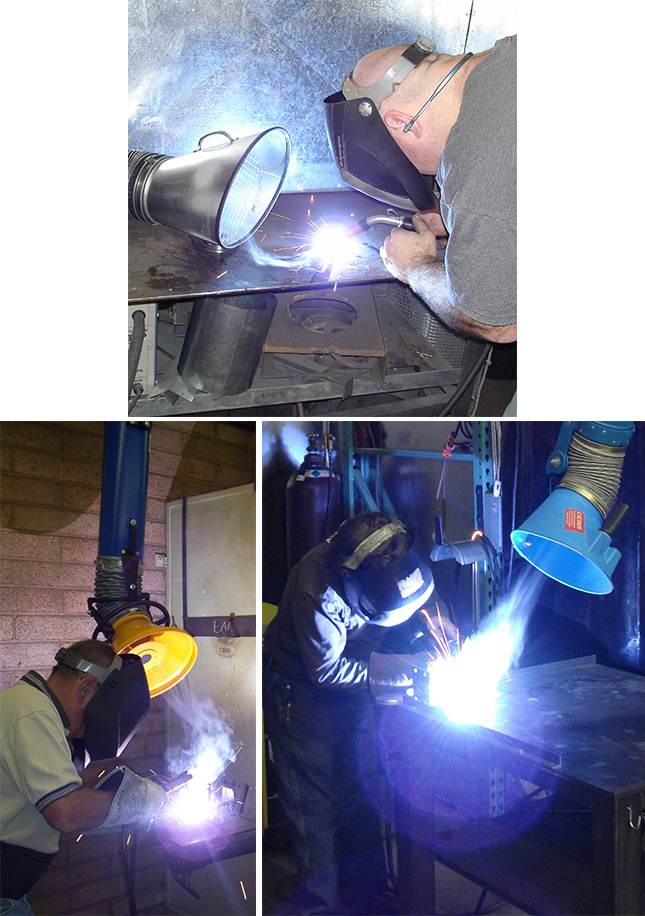 Welding And Fume Extraction Systems