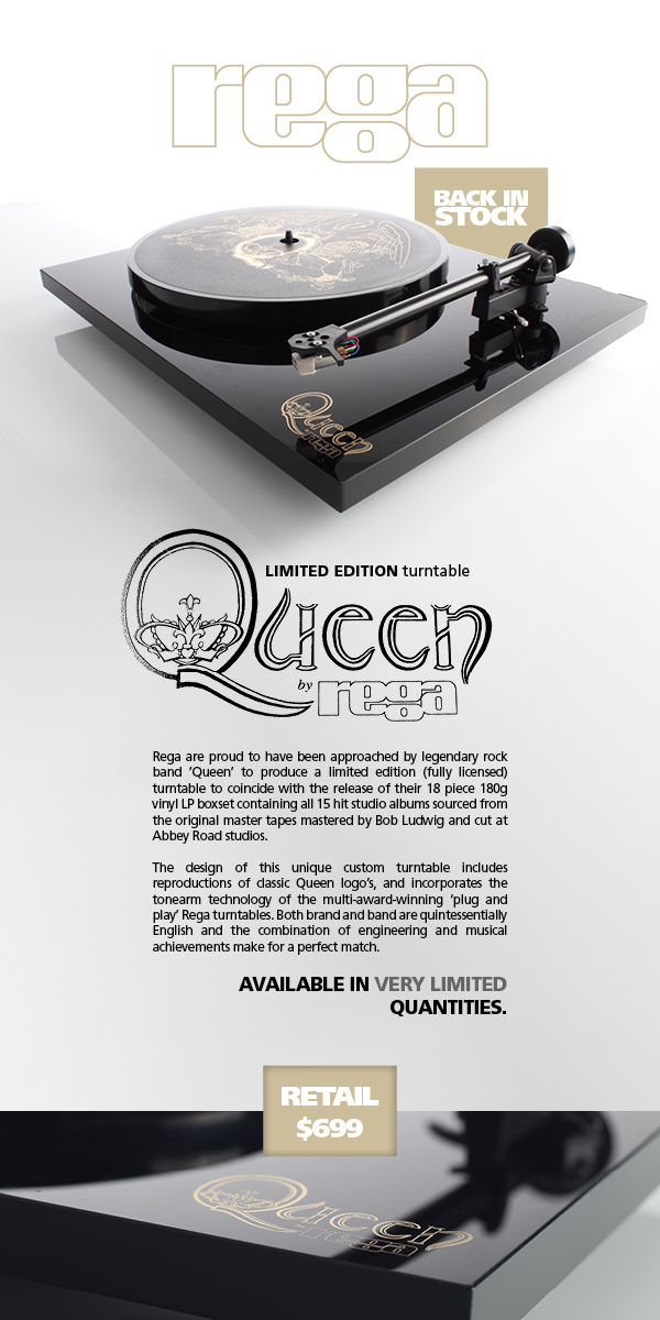 Home Video Systems London Ontario - Limited Edition Turntable Queen