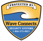 Protected by Wave Connects Badge