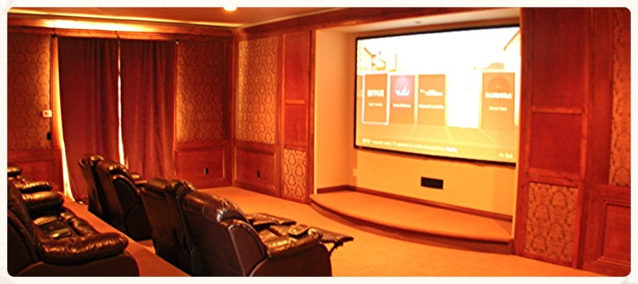 Home Theater Installation in Encinitas by Wave Connects