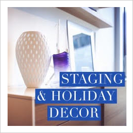 Staging and Holiday Decor Services offered by Ashleigh Underwood Design