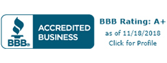 Better Business Bureau Accredited Badge for Prep Security