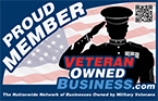 Veteran Owned Business Proud Member Badge