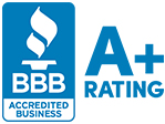 Better Business Bureau Accredited Business Rating Badge