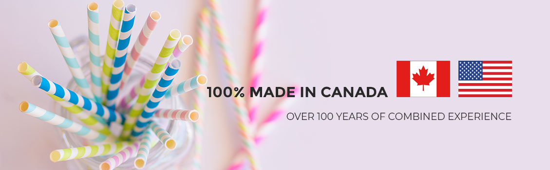 Eco-Friendly Biodegradable Paper Drinking Straw Manufacturer serving Canada and USA