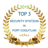 2019 Three Best Rated Security Companies Badge - Sky Security Ltd.