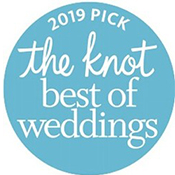 2019 Pick The Knot - Best of Weddings Badge
