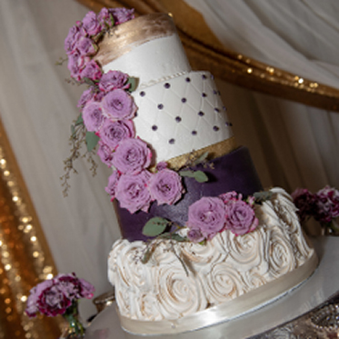 Our Favorite Wedding Cake - Kris Lavender