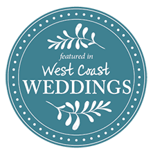 Teal West Coast Wedding
