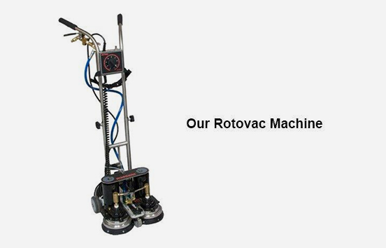 Our Rotovac Machine - Carpet Cleaning Atlanta by Preferred Carpet Cleaning and Floor Care