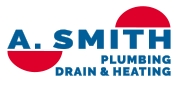 A. Smith Plumbing Drain & Heating Logo