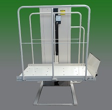 Mac's Platform Lift by Access Options Inc - Vertical Platform Lifts Fremont