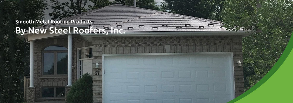 Smooth Metal Roofing Products By New Steel Roofers, Inc.
