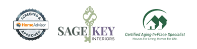 Certified Aging in Place Specialist, Home Advisor Screened and Approved -  Sage Key Interiors