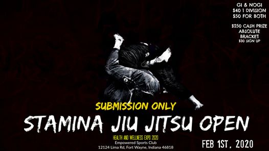 Stamina Jiu Jitsu Open Submission Only Tournament