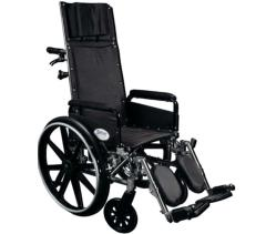 Deluxe Aluminum Recliner Wheelchair Rental Chantilly at Mandad Medical Supplies, Inc.