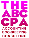 The ABC'S of Accounting, Bookkeeping & Consulting Logo