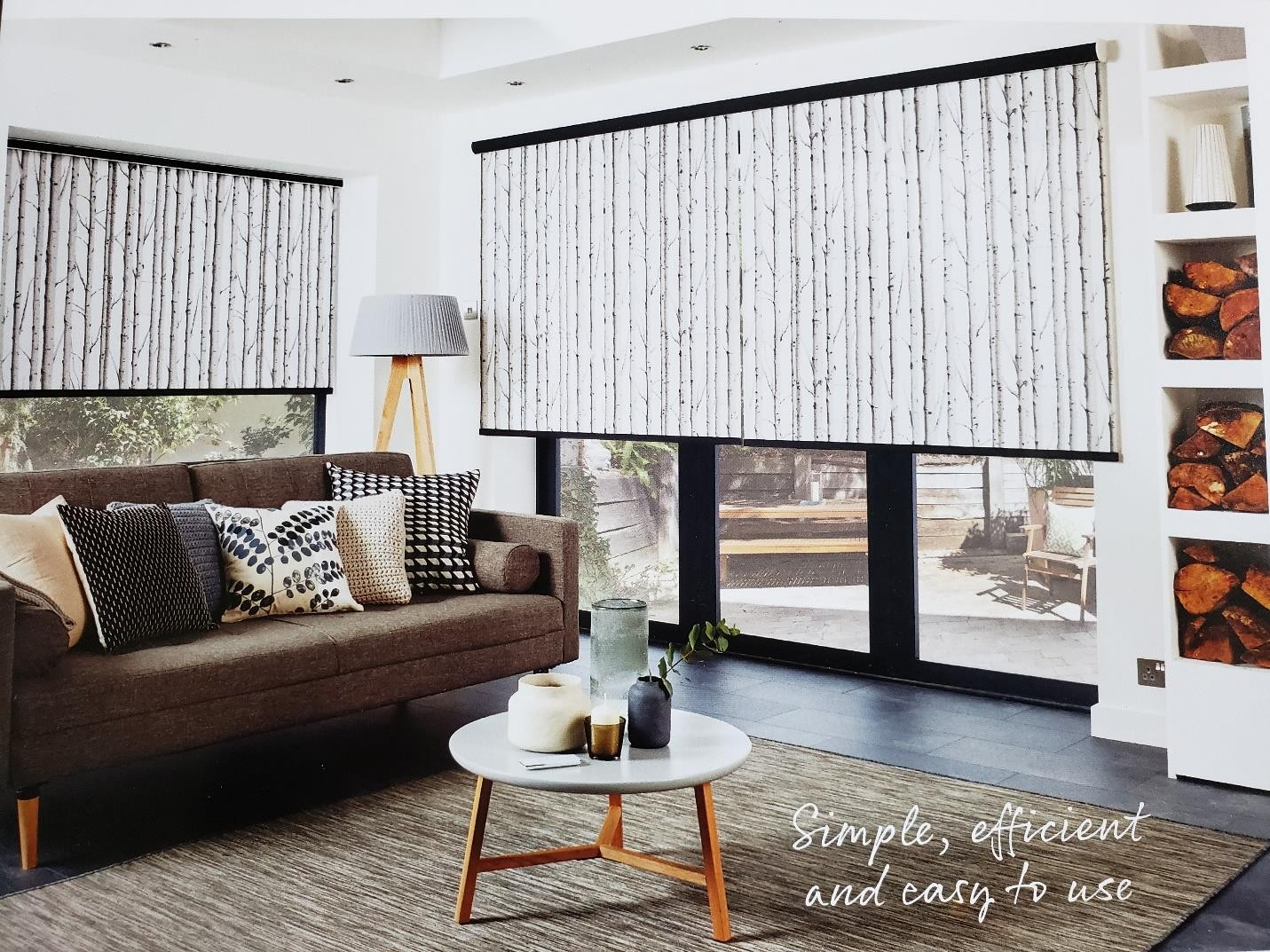 Roller Shades - Window Coverings Bolton by Modern Window Fashion