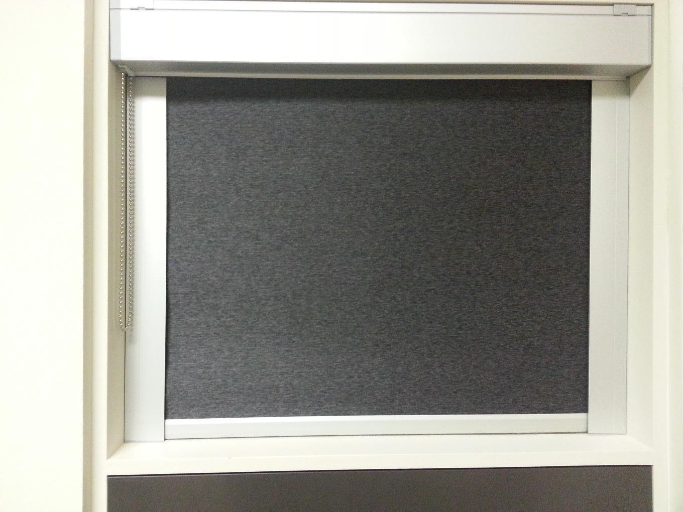 Blackout Roller Shades With Side Channels