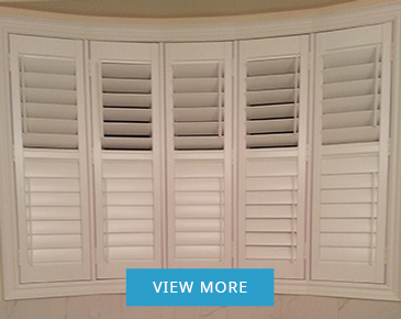 Wood and Vinyl California Shutters Ontario at Zebradualshades.com - Modern Window Fashion